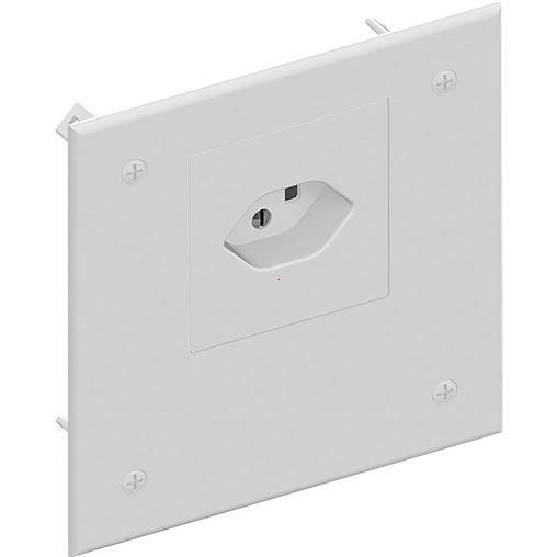 Cover with plug power socket