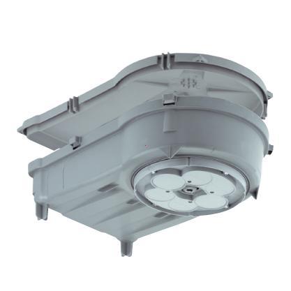 KompaX®2 housing for slab ceilings